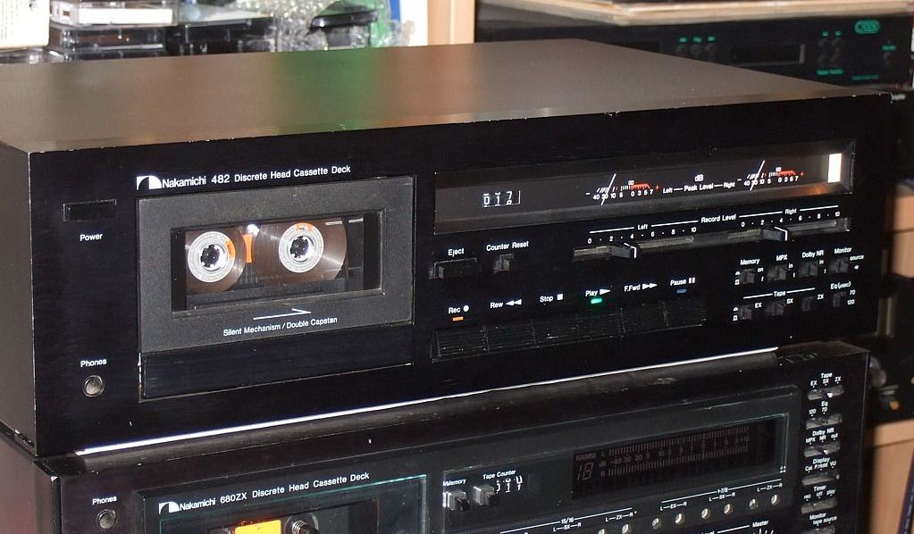 nakamichi 482 tapeheads tape audio and music forums rh tapeheads net Nakamichi Amplifier Nakamichi Cassette Deck